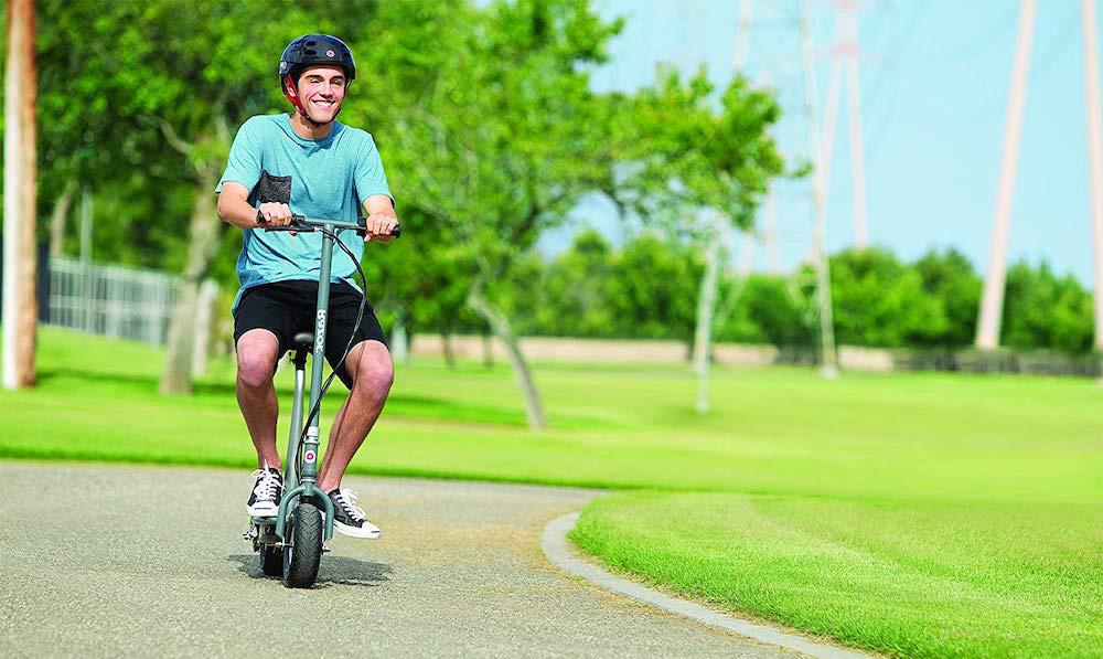 monociclo eléctrico con asiento